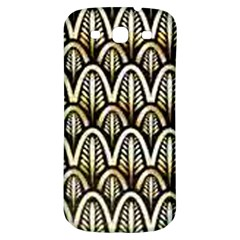 Art Deco Samsung Galaxy S3 S Iii Classic Hardshell Back Case by 8fugoso