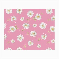 Pink Flowers Small Glasses Cloth by 8fugoso