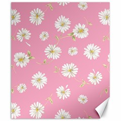 Pink Flowers Canvas 20  X 24   by 8fugoso