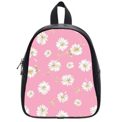 Pink Flowers School Bag (small) by 8fugoso