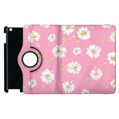 Pink Flowers Apple Ipad 2 Flip 360 Case by 8fugoso