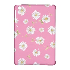 Pink Flowers Apple Ipad Mini Hardshell Case (compatible With Smart Cover) by 8fugoso