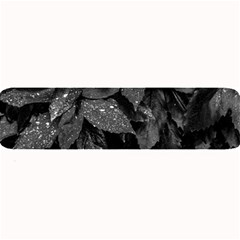 Black And White Leaves Photo Large Bar Mats by dflcprintsclothing