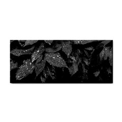 Black And White Leaves Photo Cosmetic Storage Cases by dflcprintsclothing