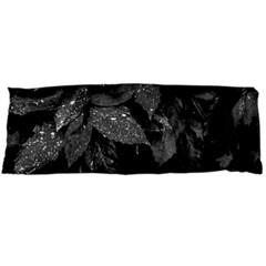 Black And White Leaves Photo Body Pillow Case Dakimakura (two Sides) by dflcprintsclothing