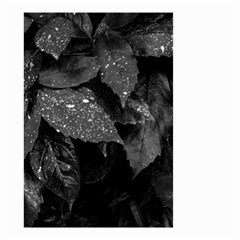 Black And White Leaves Photo Small Garden Flag (two Sides) by dflcprintsclothing