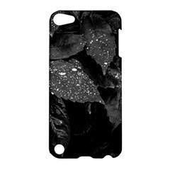 Black And White Leaves Photo Apple Ipod Touch 5 Hardshell Case by dflcprintsclothing