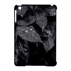 Black And White Leaves Photo Apple Ipad Mini Hardshell Case (compatible With Smart Cover) by dflcprintsclothing