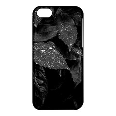 Black And White Leaves Photo Apple Iphone 5c Hardshell Case by dflcprintsclothing