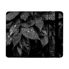 Black And White Leaves Photo Samsung Galaxy Tab Pro 8 4  Flip Case by dflcprintsclothing