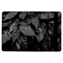 Black And White Leaves Photo Ipad Air Flip by dflcprintsclothing