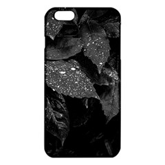 Black And White Leaves Photo Iphone 6 Plus/6s Plus Tpu Case by dflcprintsclothing