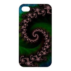 Benthic Saltlife Fractal Tribute For Reef Divers Apple Iphone 4/4s Hardshell Case by jayaprime