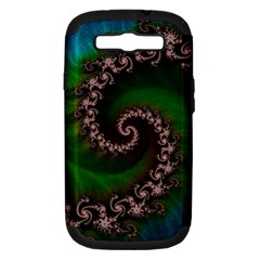 Benthic Saltlife Fractal Tribute For Reef Divers Samsung Galaxy S Iii Hardshell Case (pc+silicone) by jayaprime