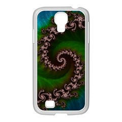 Benthic Saltlife Fractal Tribute For Reef Divers Samsung Galaxy S4 I9500/ I9505 Case (white) by jayaprime