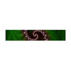 Benthic Saltlife Fractal Tribute For Reef Divers Flano Scarf (mini) by jayaprime