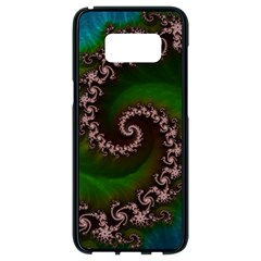 Benthic Saltlife Fractal Tribute For Reef Divers Samsung Galaxy S8 Black Seamless Case by jayaprime