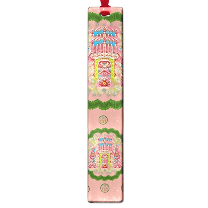 Sankta Lucia With Friends Light And Floral Santa Skulls Large Book Marks