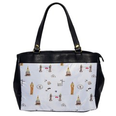 Graphics Tower City Town Office Handbags
