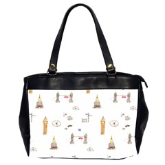 Graphics Tower City Town Office Handbags (2 Sides)