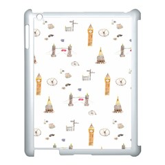Graphics Tower City Town Apple Ipad 3/4 Case (white)