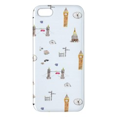 Graphics Tower City Town Apple Iphone 5 Premium Hardshell Case