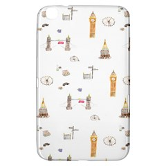 Graphics Tower City Town Samsung Galaxy Tab 3 (8 ) T3100 Hardshell Case