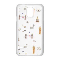 Graphics Tower City Town Samsung Galaxy S5 Case (white)