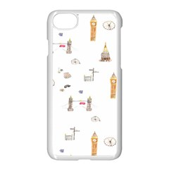 Graphics Tower City Town Apple Iphone 8 Seamless Case (white) by Alisyart