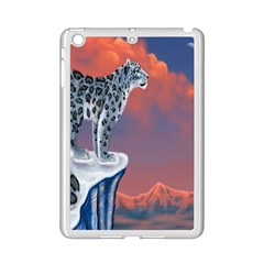 Lion Tigel Chetah Animals Snow Moon Blue Sky Ipad Mini 2 Enamel Coated Cases