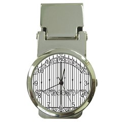 Inspirative Iron Gate Fence Money Clip Watches by Alisyart