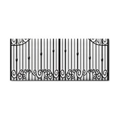 Inspirative Iron Gate Fence Cosmetic Storage Cases by Alisyart