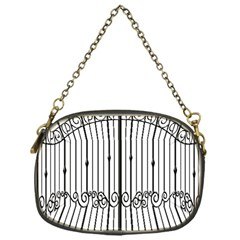 Inspirative Iron Gate Fence Chain Purses (one Side)