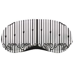 Inspirative Iron Gate Fence Sleeping Masks by Alisyart