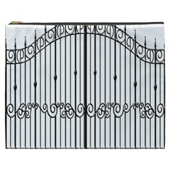 Inspirative Iron Gate Fence Cosmetic Bag (xxxl)