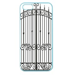 Inspirative Iron Gate Fence Apple Seamless Iphone 5 Case (color) by Alisyart