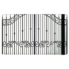 Inspirative Iron Gate Fence Apple Ipad 3/4 Flip Case