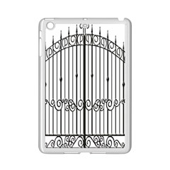 Inspirative Iron Gate Fence Ipad Mini 2 Enamel Coated Cases