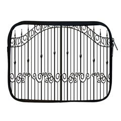 Inspirative Iron Gate Fence Apple Ipad 2/3/4 Zipper Cases by Alisyart