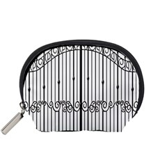 Inspirative Iron Gate Fence Accessory Pouches (small)  by Alisyart