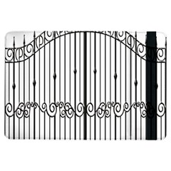 Inspirative Iron Gate Fence Ipad Air Flip by Alisyart