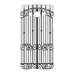 Inspirative Iron Gate Fence Samsung Galaxy A5 Hardshell Case  by Alisyart