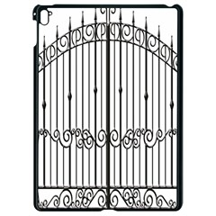 Inspirative Iron Gate Fence Apple Ipad Pro 9 7   Black Seamless Case