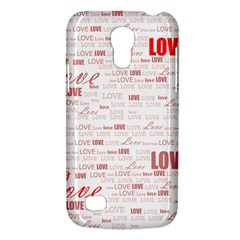 Love Heart Valentine Pink Red Romantic Galaxy S4 Mini
