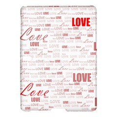 Love Heart Valentine Pink Red Romantic Samsung Galaxy Tab S (10 5 ) Hardshell Case