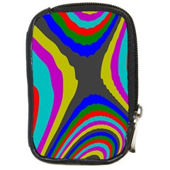 Pattern Rainbow Colorfull Wave Chevron Waves Compact Camera Cases