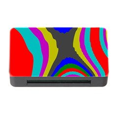 Pattern Rainbow Colorfull Wave Chevron Waves Memory Card Reader With Cf by Alisyart