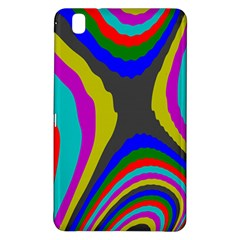 Pattern Rainbow Colorfull Wave Chevron Waves Samsung Galaxy Tab Pro 8 4 Hardshell Case by Alisyart