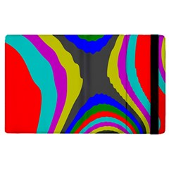Pattern Rainbow Colorfull Wave Chevron Waves Apple Ipad Pro 9 7   Flip Case by Alisyart