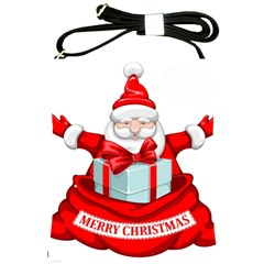 Merry Christmas Santa Claus Shoulder Sling Bags